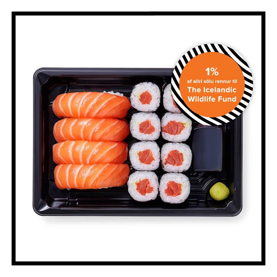 Tokyo Sushi lætur verkin tala!