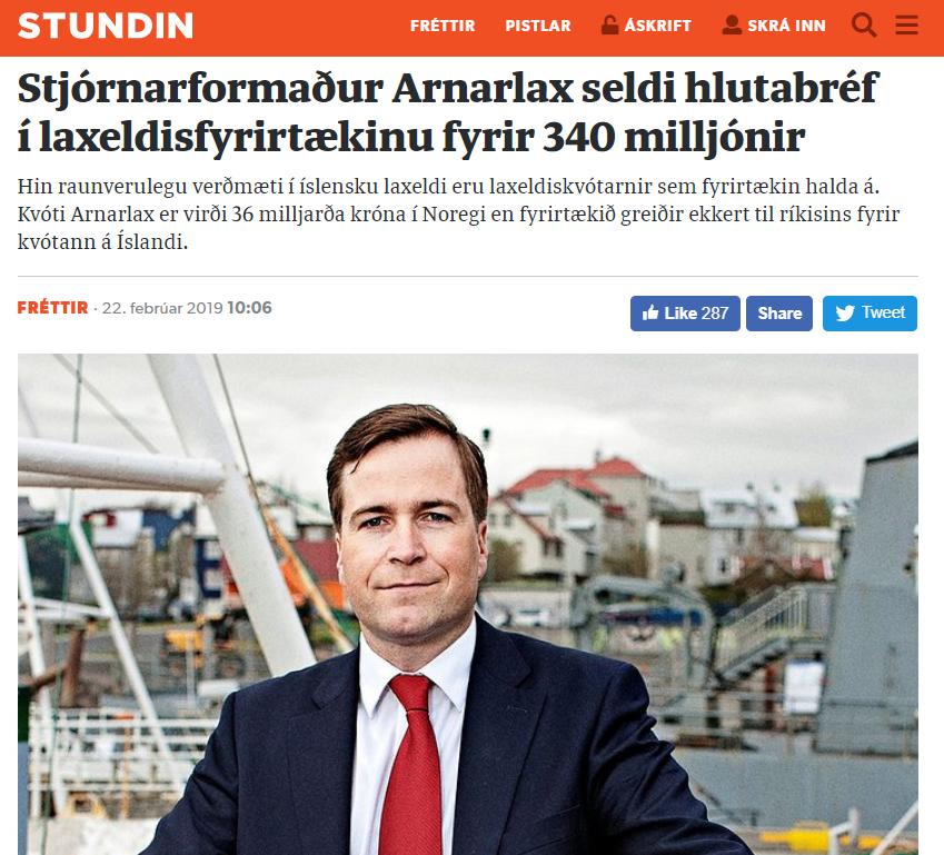Fáeinir einstaklingar stórefnast á laxeldi sem skilar hundruða milljóna tapi ár eftir ár