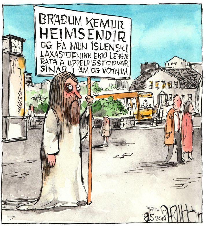 Halldór góður að vanda
