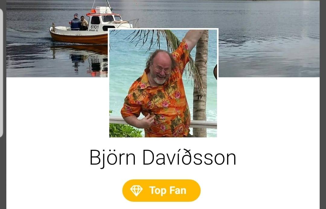 Mesti aðdáandi Facebooksíðu Icelandic Wildlife Fund
